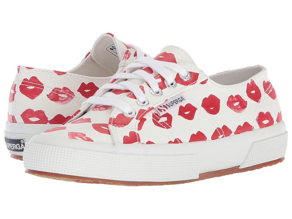 Superga - 2750 Puprintw Sneaker (Red Multi) Womens Shoes