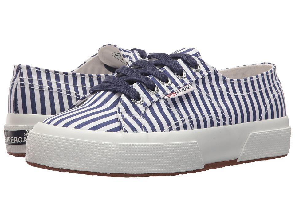 Superga - 2750 Fabrishirtu Sneaker (Navy) Womens Shoes