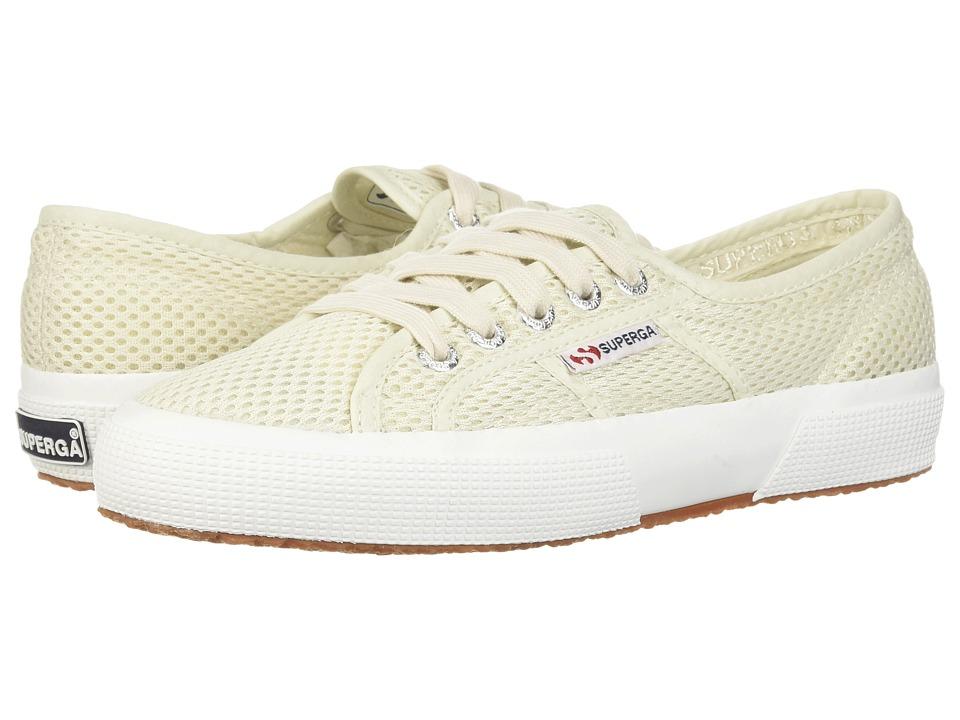 Superga - 2750 Meshu Sneaker (White) Womens Shoes