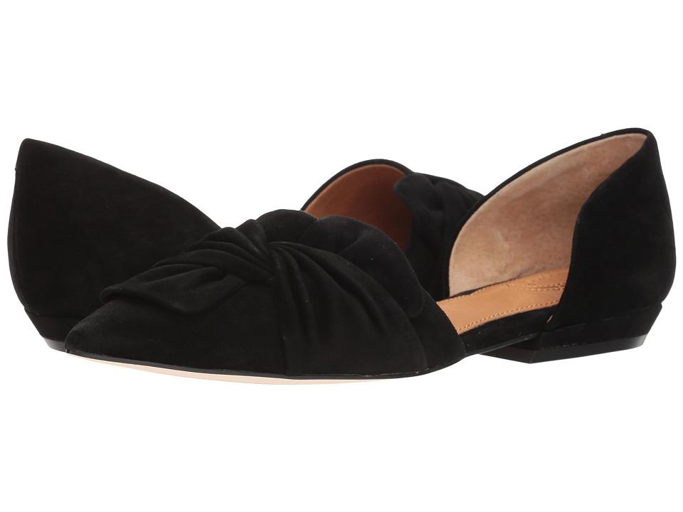 CC Corso Como - Mollie (Black Kid Suede) Womens Flat Shoes