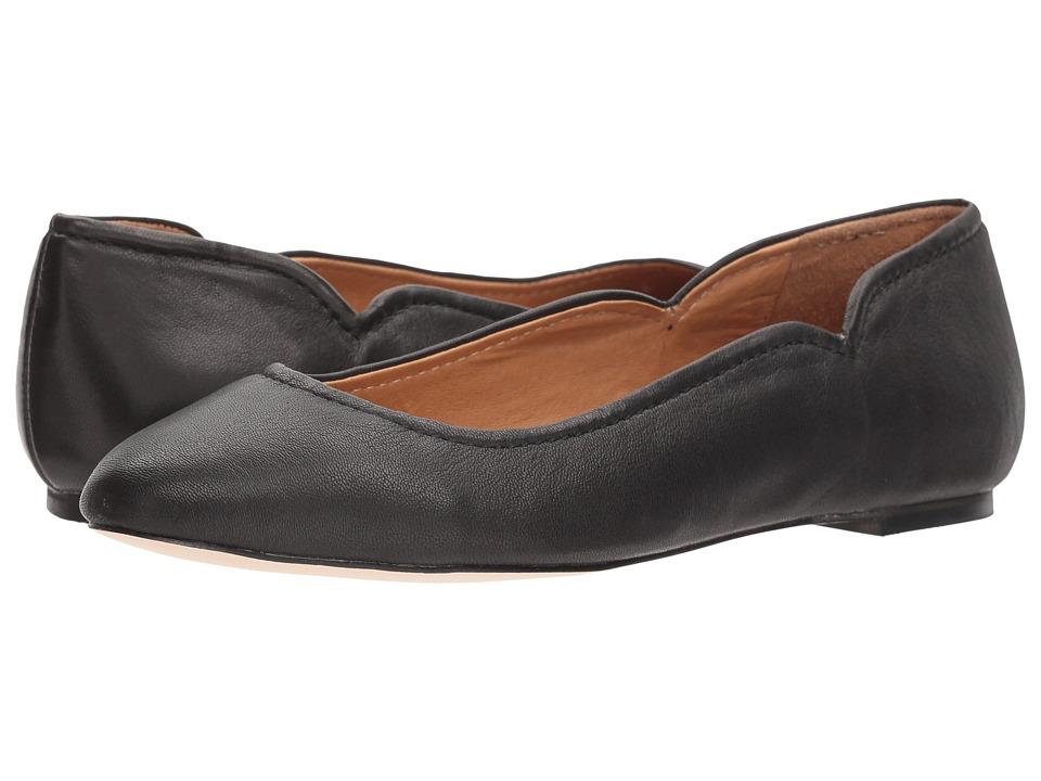 CC Corso Como - Callie (Black Matte Washed Sheep) Womens Flat Shoes
