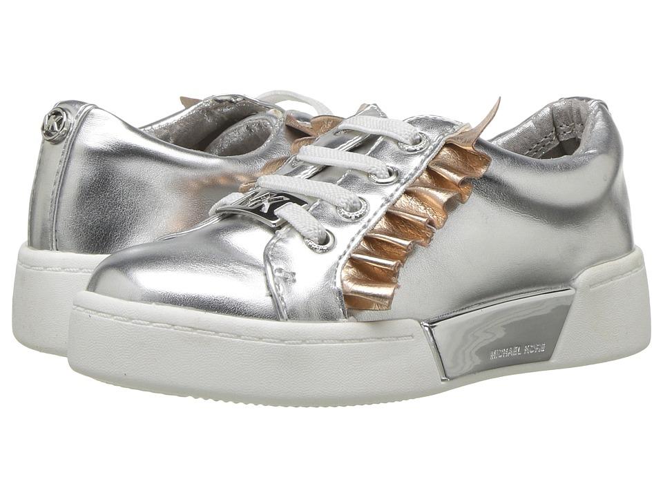 MICHAEL Michael Kors Kids - Guard Rail (Toddler) (Silver) Girls Shoes