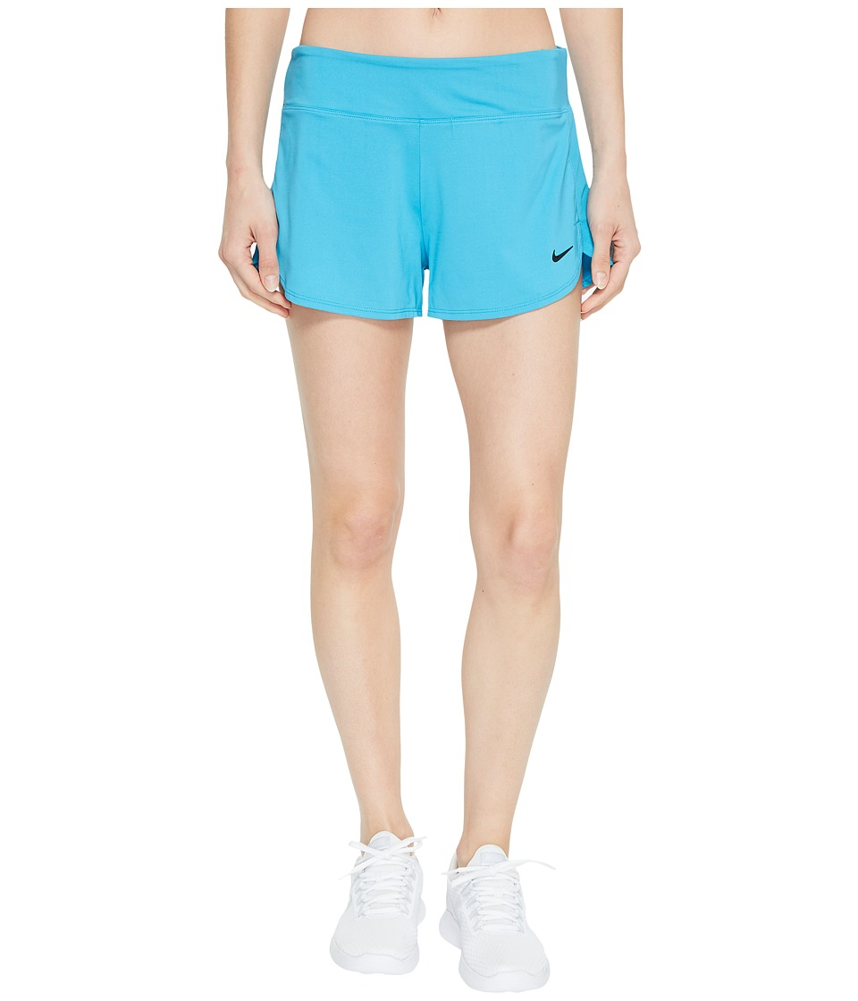 Nike Cover-Up Shorts (Light Blue Fury) Women