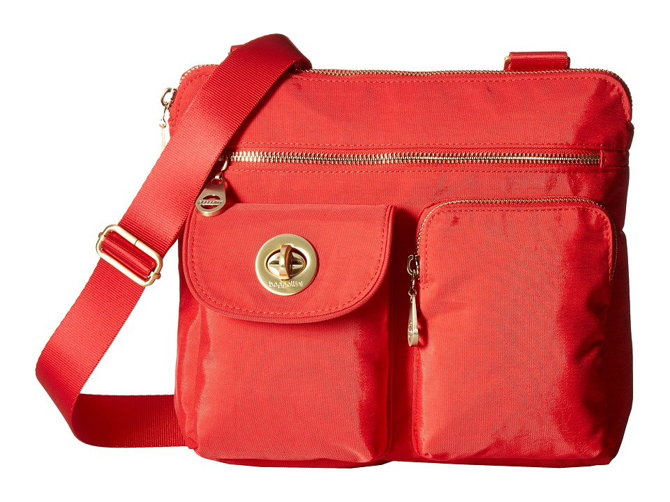 Baggallini - New Classic Melbourne Crossbody (Hibiscus) Cross Body Handbags