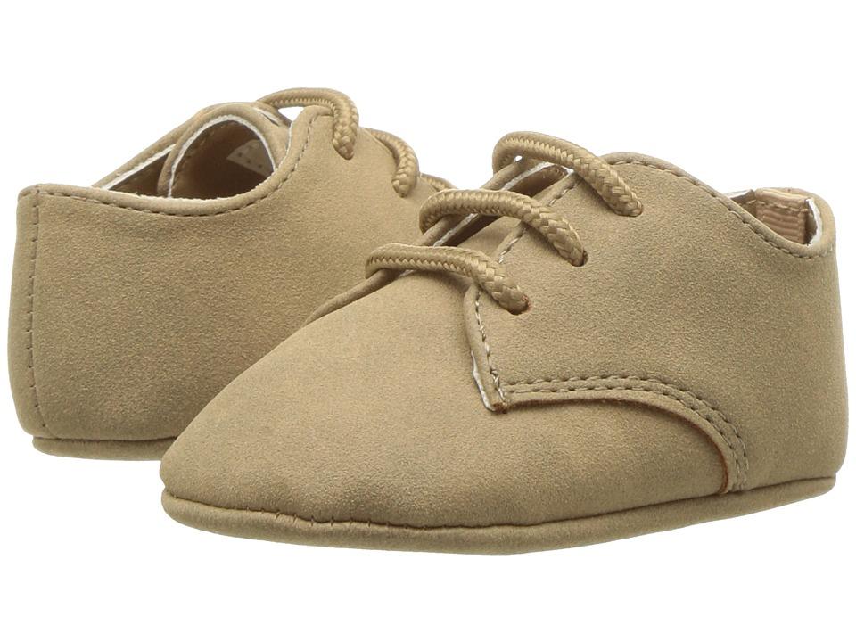Baby Deer - Soft Sole Dress Oxford (Infant) (Khaki) Boys Shoes