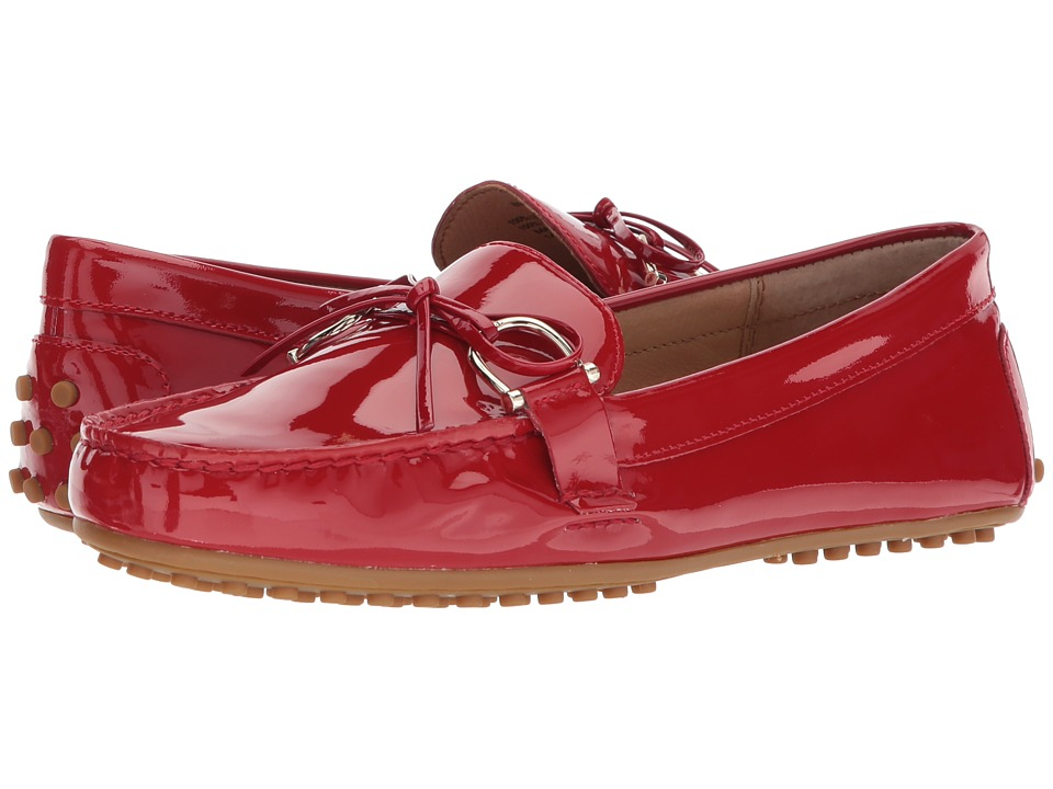 Ralph Lauren Briley (Tomato Red Patent Leather) Women's B...