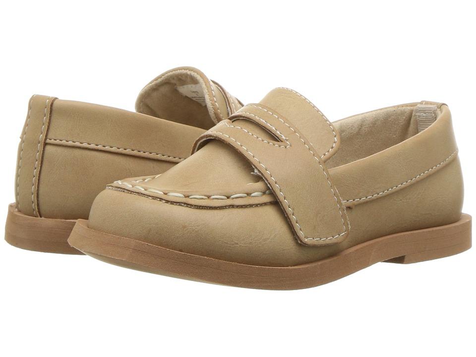 Baby Deer - First Steps Loafer (Infant/Toddler) (Tan) Boys Shoes