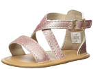 Baby Deer Soft Sole Crisscross Sandal (Infant)