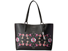 Calvin Klein Reese Floral Printed Saffiano East/West Tote