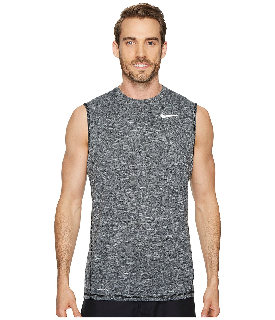 Nike Sleeveless Hydroguard (Black) Men's Swimwear