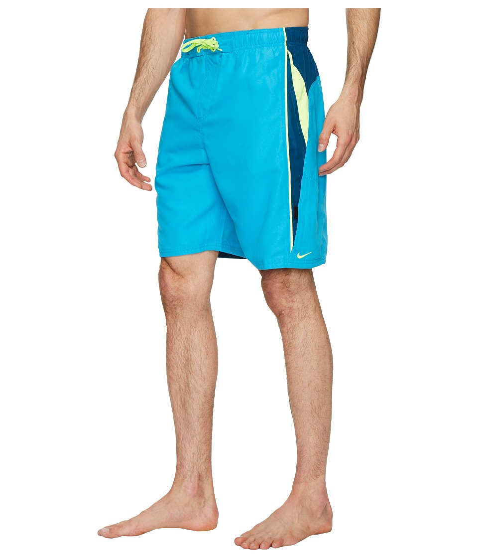 Nike Contend 9 Volley Shorts (Light Blue Fury) Men