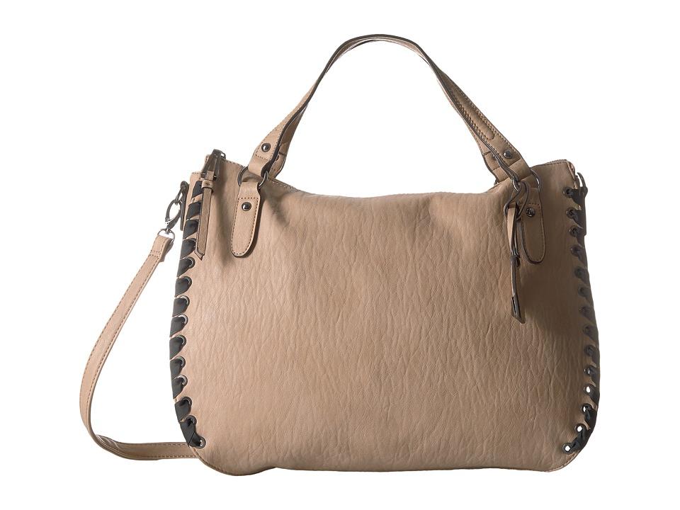 Jessica Simpson Zamia Crossbody Tote (Natural) Tote Handbags