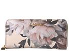 Calvin Klein Key Item Floral Printed Saffiano Zip Around Wallet