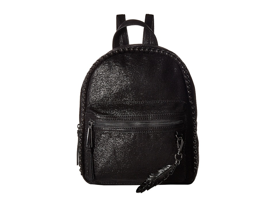 Jessica Simpson Camile Dome Backpack (Black Metallic) Bac...