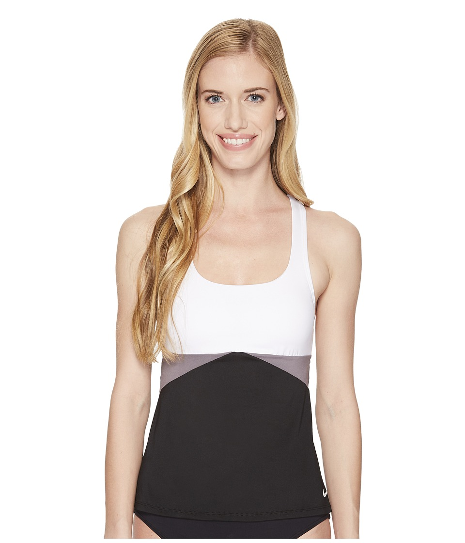 Nike Cross-Back Tankini (Black)