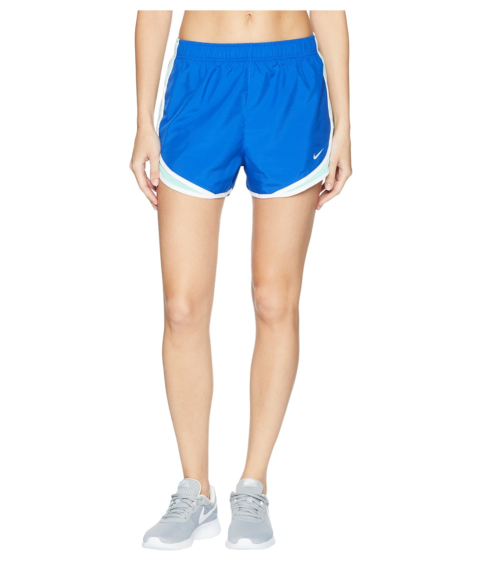 Nike Dry Tempo Short (Game Royal/Emerald Rise/White/Wolf Grey) Women
