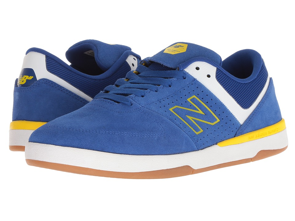 New Balance Numeric - 533v2 (Royal/Yellow Suede) Mens Skate Shoes