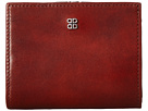 Bosca Old Leather Frame Petite French Purse