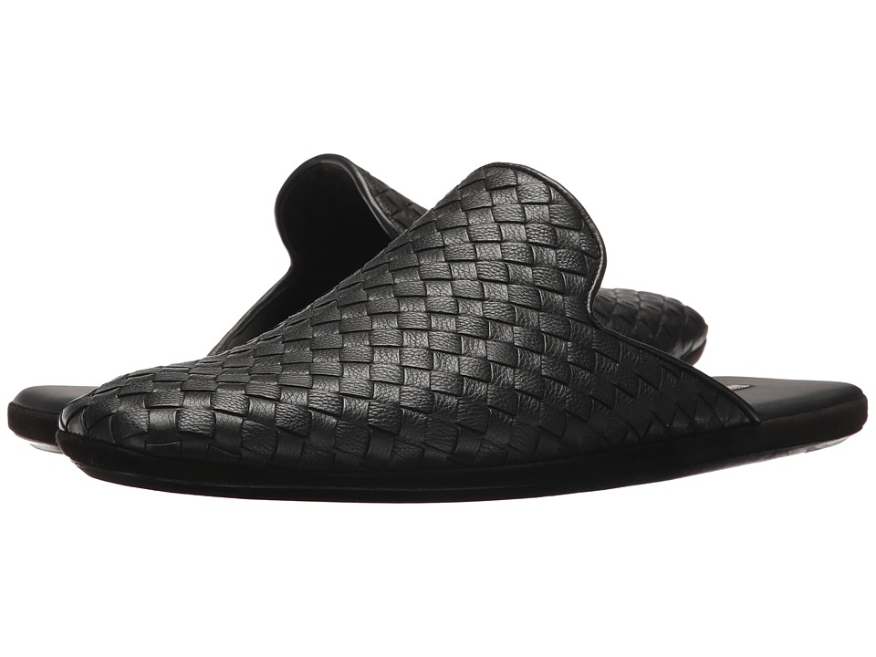 Bottega Veneta - Mondrian Slide Loafer (Black) Mens Flat Shoes