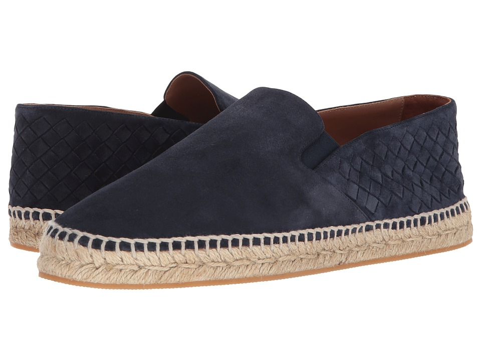 Bottega Veneta - Sardana Espadrille (Dark Navy) Mens Flat Shoes