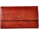 Bosca Bosca Old Leather Checkbook Clutch
