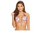 Luli Fama Cienfuegos Daniela Reversible Halter Bikini Top