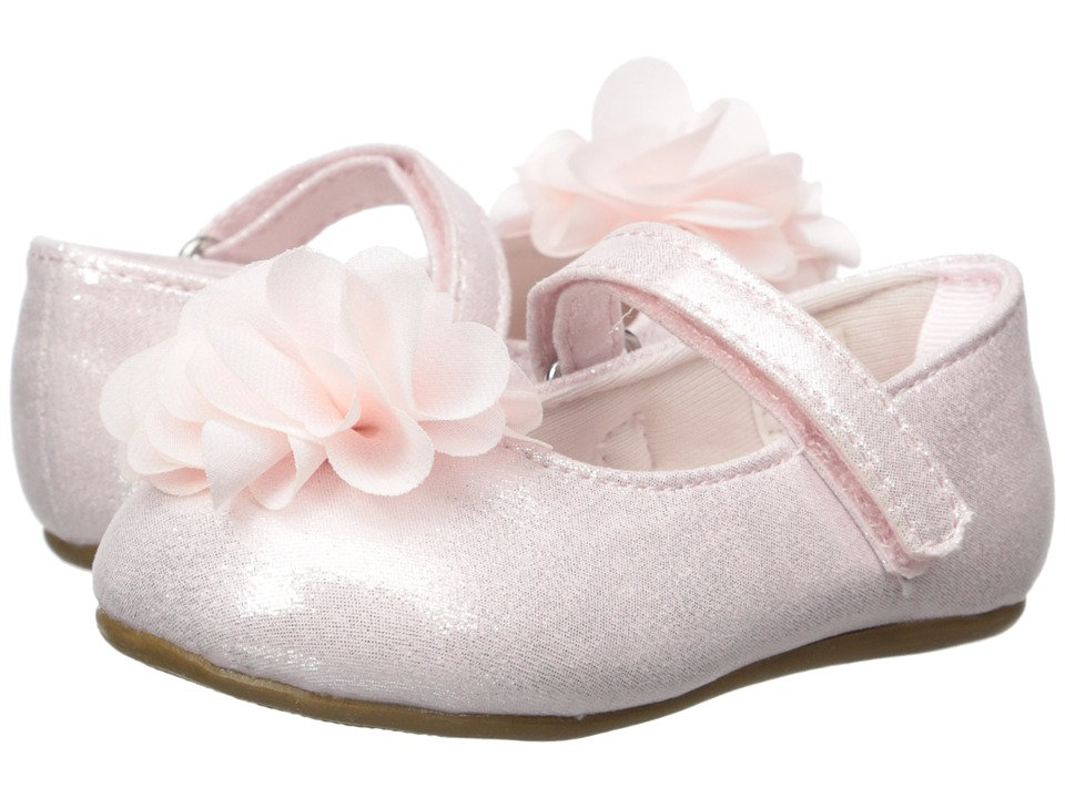 Baby Deer - First Steps Ballet with Flower (Infant/Toddler) (Pink) Girls Shoes