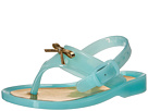 Baby Deer Baby Deer First Steps Jelly Thong Sandal with Bow (Infant/Toddler)