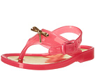 Baby Deer First Steps Jelly Thong Sandal with Bow (Infant/Toddler)
