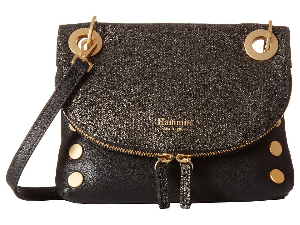 Hammitt - Corey Rev XS (Gold Dust/Black/Brushed Gold) Handbags