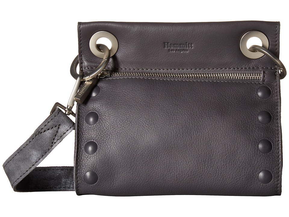 Hammitt - Tony Embossed (Awa/Awa Buffed/Brushed silver) Cross Body Handbags