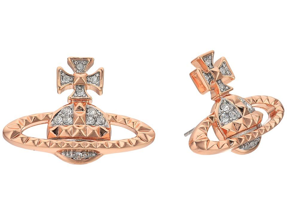 Vivienne Westwood - Mayfair Bas Relief Earrings (Crystal 1) Earring