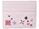 Bottega Veneta Intrecciato Embroidered Card Case