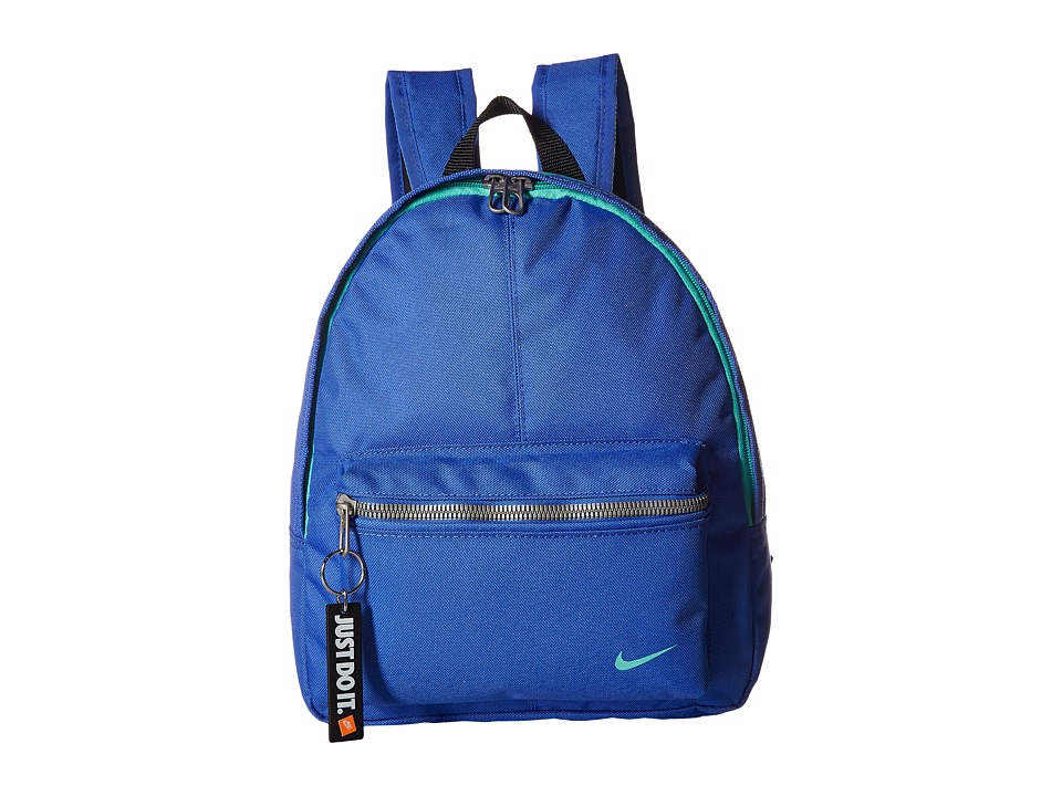 Nike - Young Athletes Classic Base Backpack (Light Racer Blue/Black/Light Menta) Backpack Bags