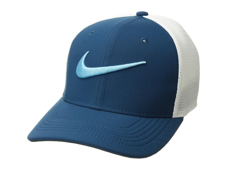 Nike Kids - AeroBill Classic99 Training Cap (Little Kids/Big Kids) (Blue Force/White/Black/Blue Gale) Caps