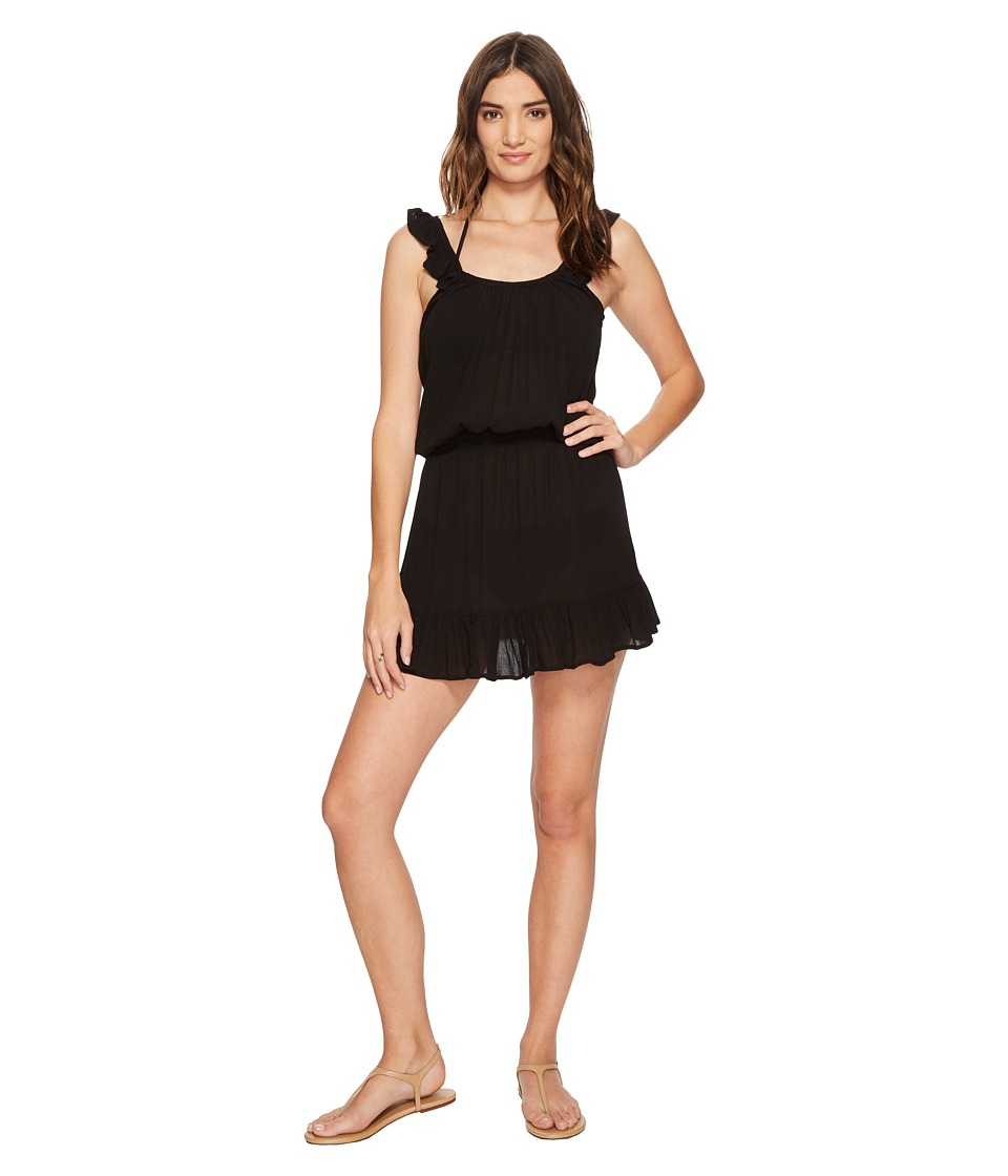 Maaji Jet Black Short Dress (Black)