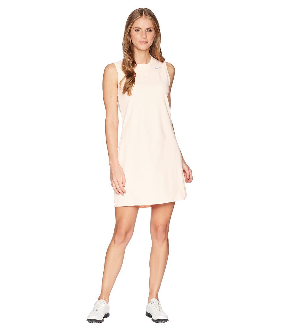 Nike Golf - Flex Sleeveless Dress (Crimson Tint/Flat Silver) Womens Dress
