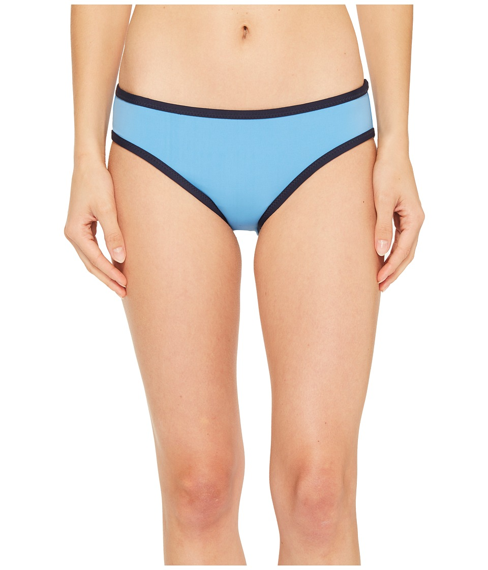 Tommy Hilfiger Nomad Color Block Classic Reversible Bikini Bottom (Crew Blue)