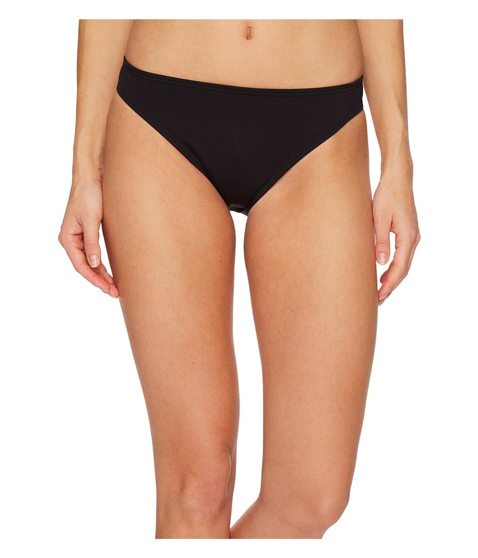 Vince Camuto Riviera Solids Classic Bikini Bottoms (Black)
