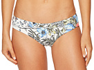Vince Camuto Vince Camuto Wildflower Shirred Smooth Fit Cheeky Bikini Bottoms