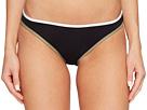 Vince Camuto Sun Block Solids Contrast Binding Reversible Bikini Bottoms