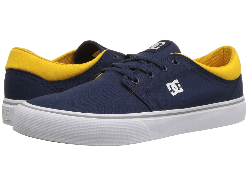 DC - Trase TX (Navy/Yellow) Skate Shoes