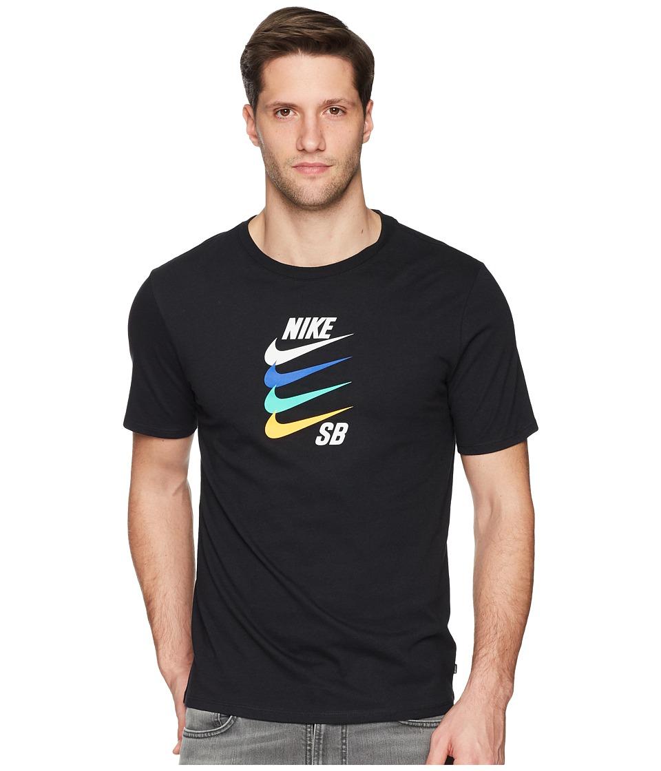 Nike SB - SB Tee Futura (Black) Mens T Shirt