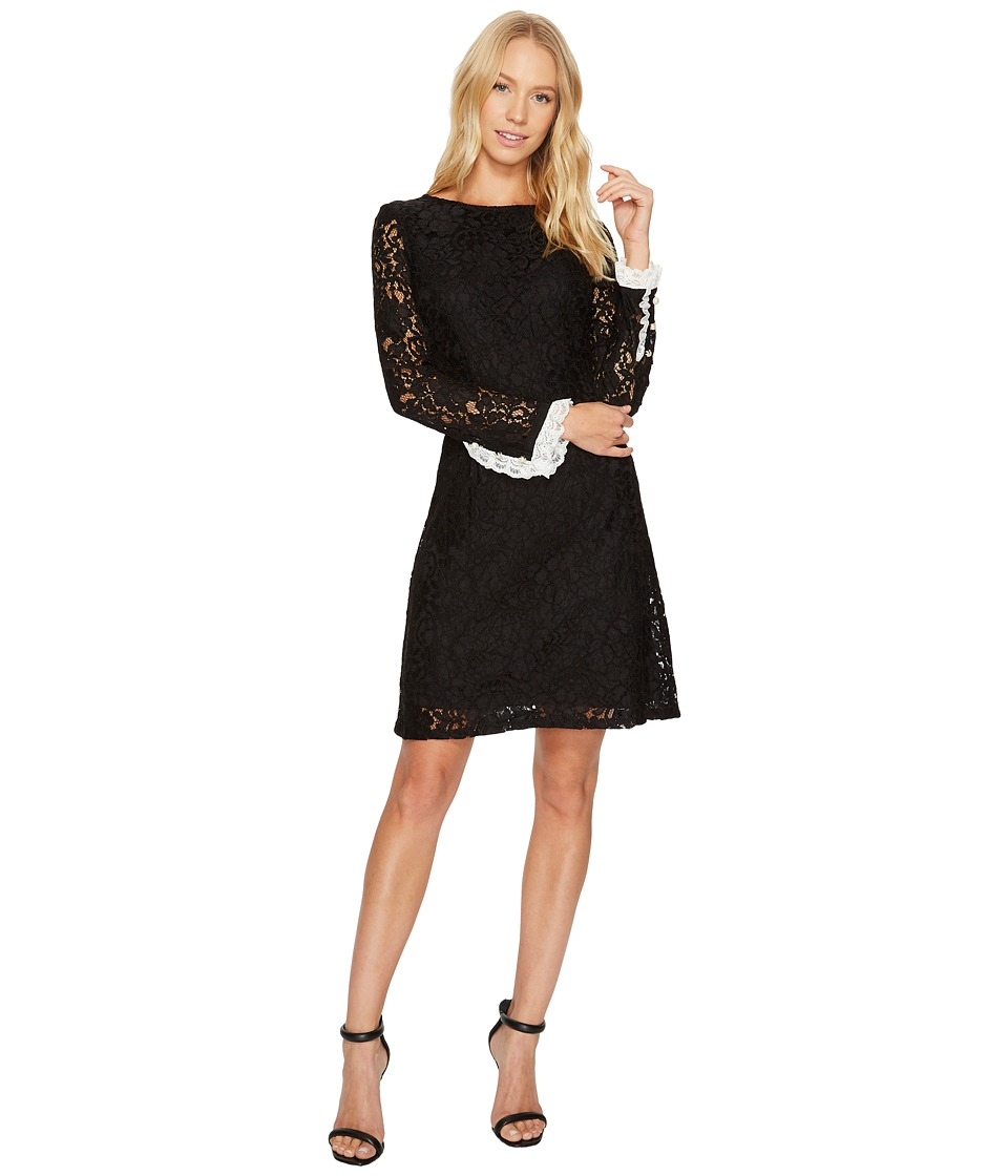 Adrianna Papell - Lace Shift with Long Sleeves