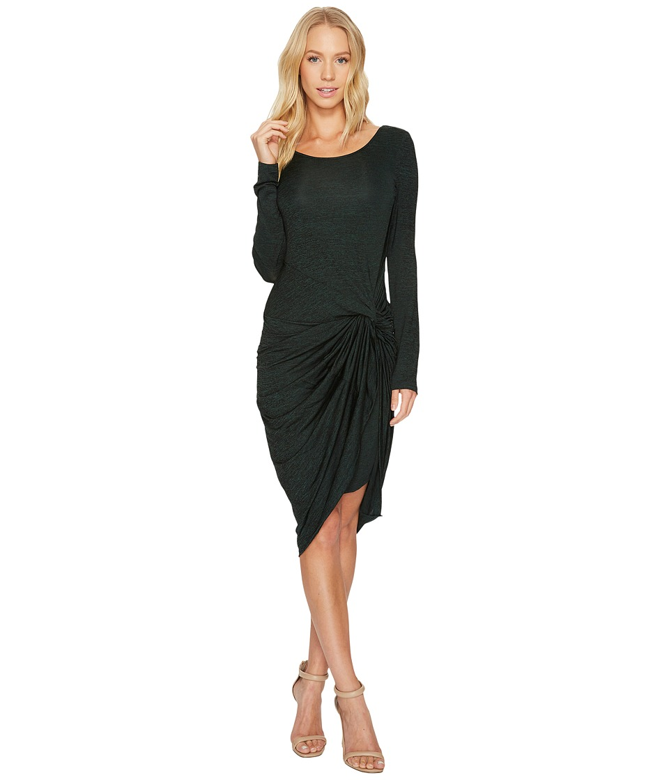 Adrianna Papell - Jaspee Knit Scoop Neck Knit Dress
