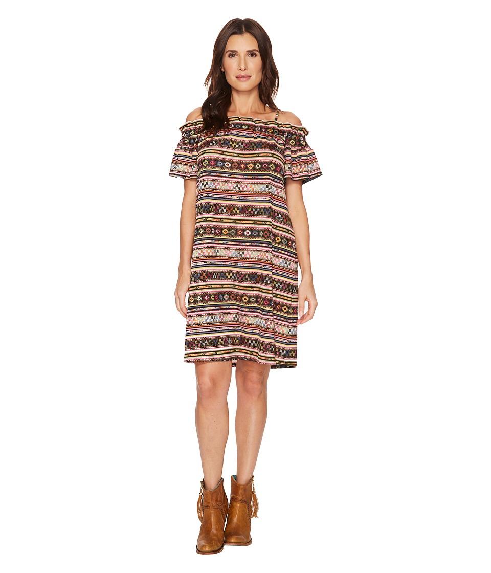 Double D Ranchwear - Fandango Dress (Multi) Womens Dress