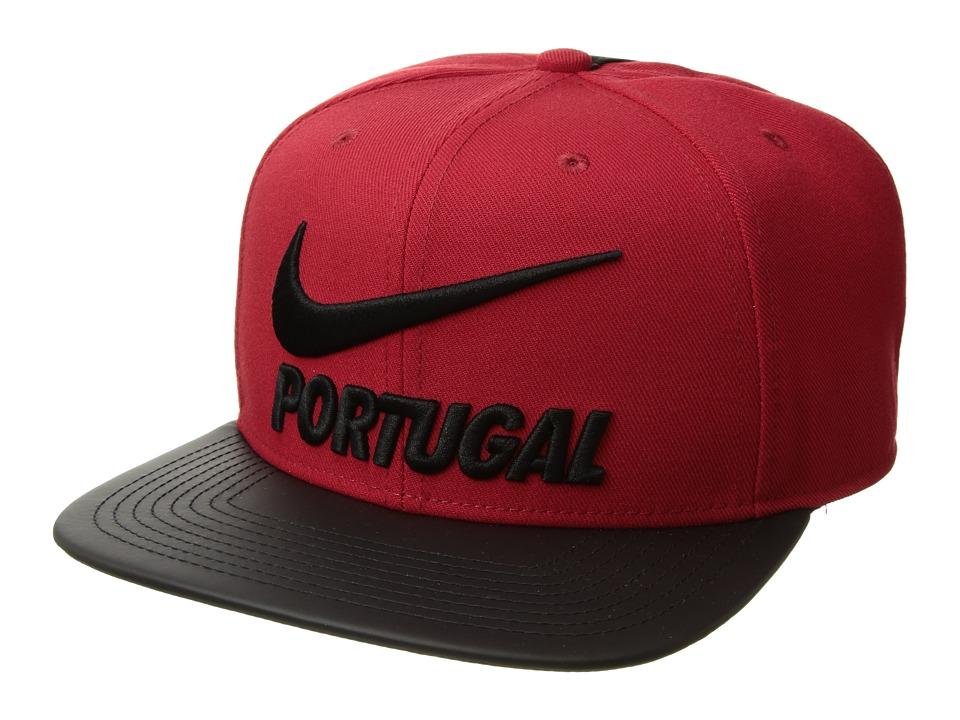 Nike - FPF Portugal Pro Cap Pride (Gym Red/Black/Black) Caps
