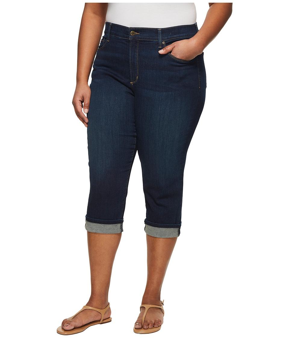 NYDJ Plus Size - Plus Size Marilyn Crop Cuff in Bezel (Bezel) Womens Jeans
