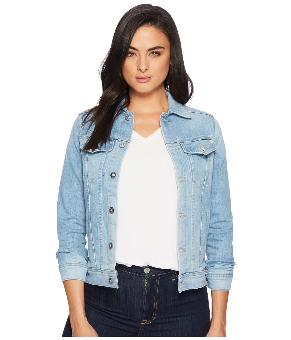 AG Adriano Goldschmied - Mya Jacket (Sunlight Blue) Womens Coat