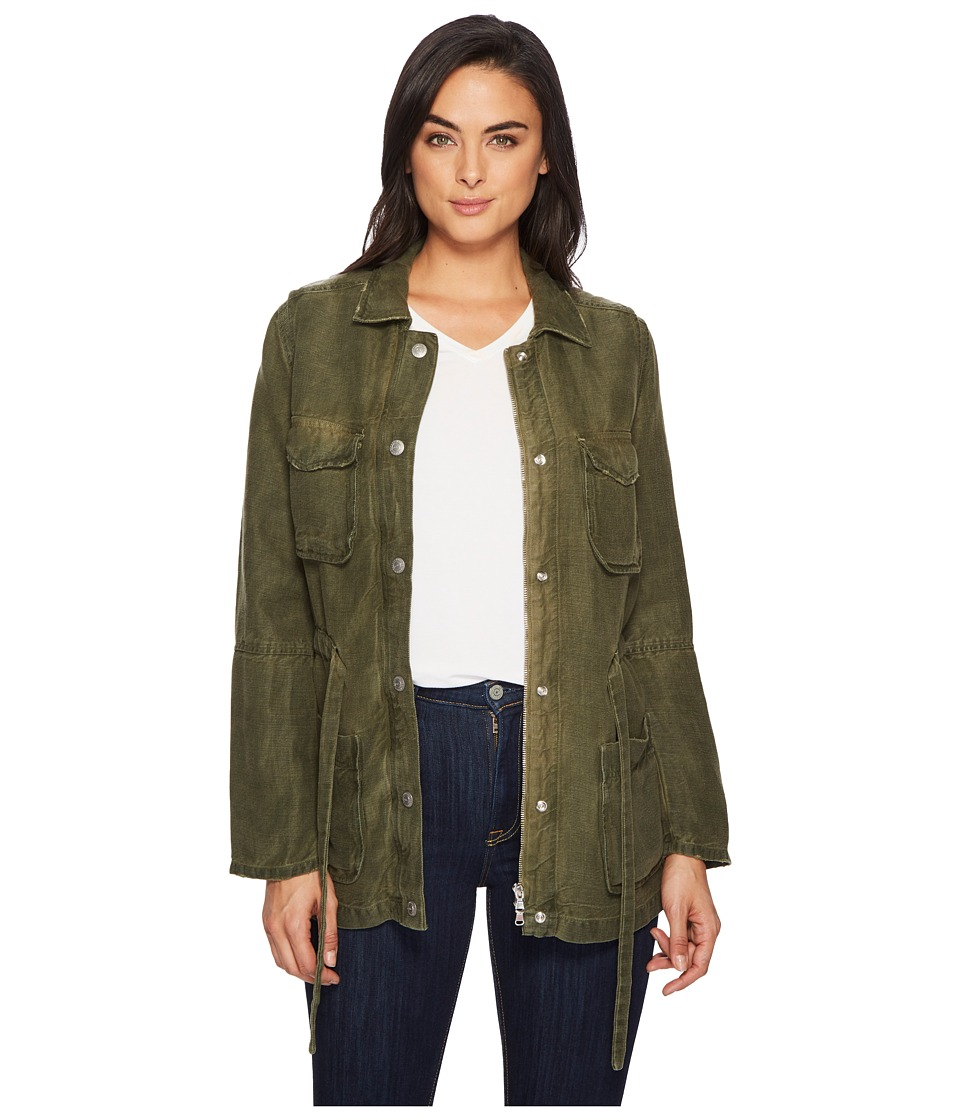 AG Adriano Goldschmied - Carell Jacket (Sulfur Desert Pine) Womens Coat